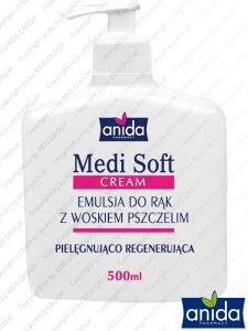 KREMOWA EMULSJA DO RĄK 500 ml - HK-MEDISOFT-WP
