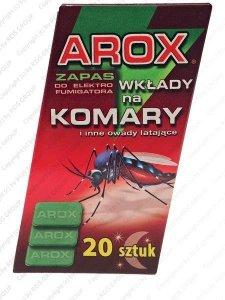 WKŁADY DO ELEKTROFUMIGATORA - AROX-WKLAD
