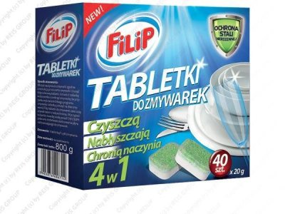 TABLETKI DO ZMYWAREK - FILIP-ZM-TAB