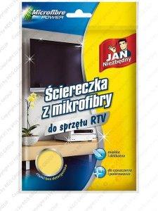 ŚCIERKA Z MIKROFIBRY - JAN-SCIEM-RTV