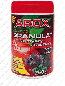 GRANULAT NA MYSZY I SZCZURY 250 g - AROX-GRANMYSZ250