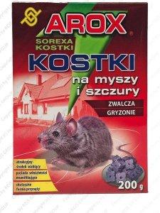 KOSTKA NA MYSZY I SZCZURY 200 g - AROX-KOSMYSZ200