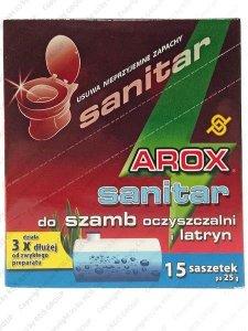 SANITAR DO SZAMB I OCZYSZCZALNI - AROX-SANIT15X25