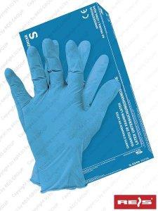 RĘKAWICE LATEKSOWE L - RALATEX-BLUE N