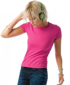 Ladies' Fluo T-Shirt