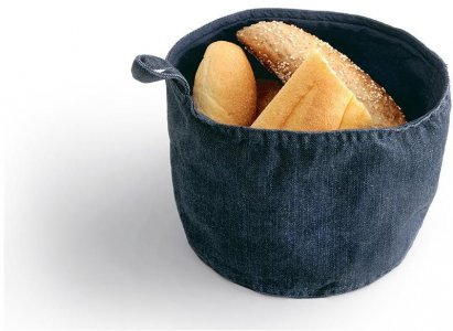 Denim table bread basket