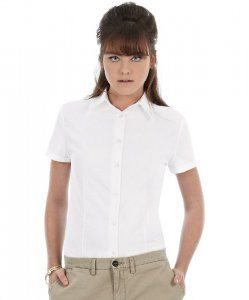 Oxford Blouse shortsleeve