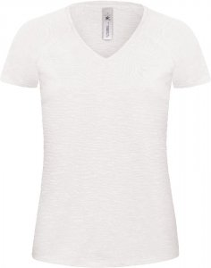 Ladies' Medium Fit V-Neck T-Shirt