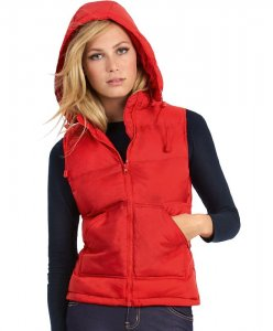 Ladies' Hooded Bodywarmer
