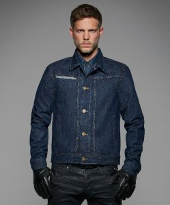 Men's Denim Trucker Jacket