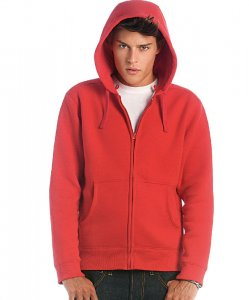 Men's Hooded Sweat Jacket