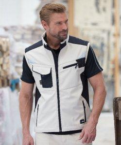 Workwear Summer Softshell Gilet