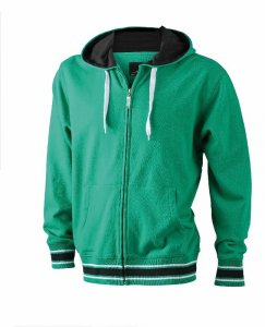 Men's Baseball Hooded SweatJacket