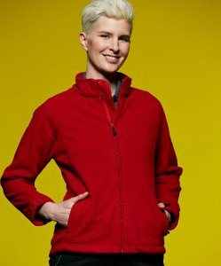 Ladies' 3-Layer Bonded Fleece Jacket