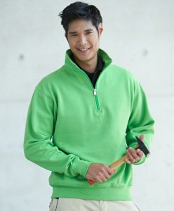 Workwear Half Zip Sweatshirt