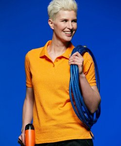 Ladies' Heavy Workwear Piqué Polo