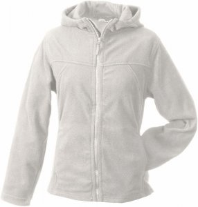 Ladies' Micro Fleece Jacket Hooded