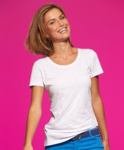 "Ladies' Slub T-Shirt ""Urban"""