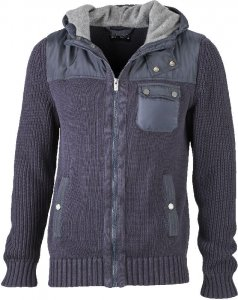 Men's Knitted Winter Jacket