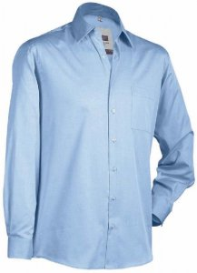 Men's Chambray Business Shirt longsleeve