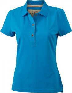 Ladies' Jersey Vintage Polo