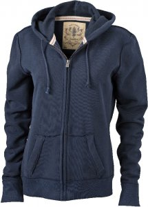 Ladies' Vintage Hooded Sweatjacket