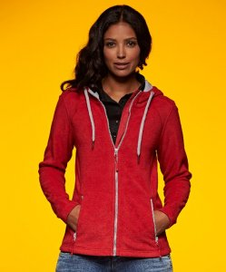 Ladies' Hooded Fleece Jacket