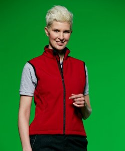 Ladies' 3-Layer Softshell Vest