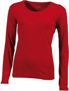 Ladies' Rib Shirt longsleeve
