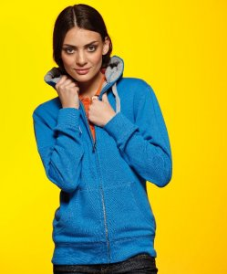 Ladies' Lifestyle Hooded Sweat Jacket