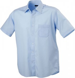 Men's Poplin Shirt Classic Fit shortsleeve