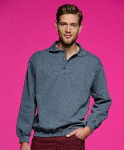 Men's Heavy Polo Sweater