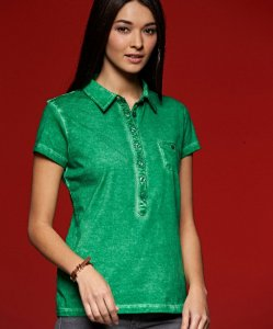 "Ladies' Jersey Polo ""Gipsy"""