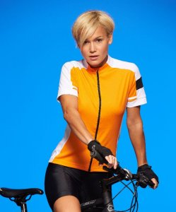 Ladies' Full Zip Bike T-Shirt
