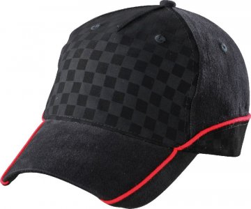 5 Panel Racing Embossed Cap