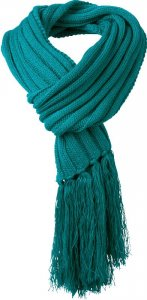 Oversize Scarf with Fringes