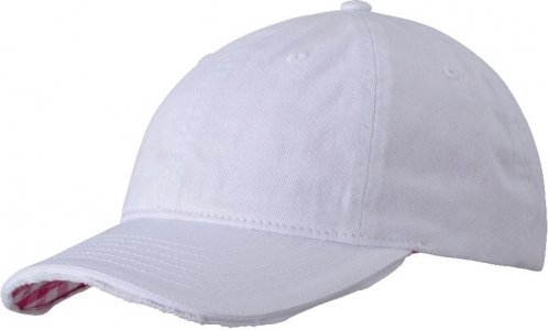 6 Panel Club Vichy-Checked Cap