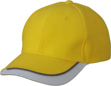 3-color 6 Panel Sandwich Cap