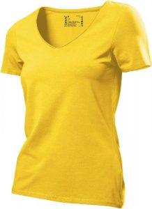 Ladies' V-Neck Stretch T-Shirt