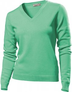 Ladies' V-Nek Pullover