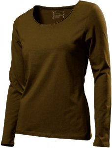 Ladies' Stretch T-Shirt longsleeve
