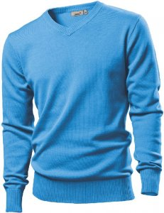 Men's Pullover with V-Neck