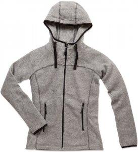 Ladies' Hooded Fleece Jacket