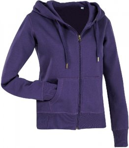 Ladies' Hooded Sweat Jacket