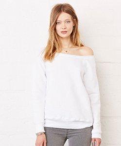 Triblend Slouchy Wideneck Sweatshirt
