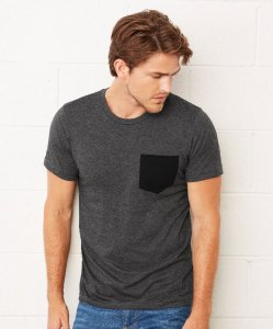 Men's T-Shirt with Breast Pocket