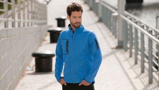 Men's Sport Softshell Jacke 5000