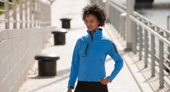 Ladies' Sport Softshell Jacke 5000