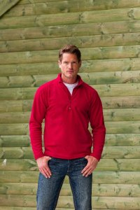 Micro Fleece Pullover with 1/4 Zip
