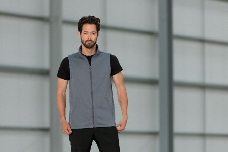 Men's 2-Layer Softshell Vest
